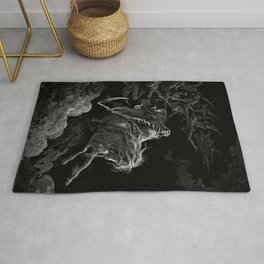 Death on the Pale Horse resized - Dore Rug
