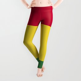 Bolivia flag emblem Leggings