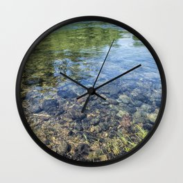 Within and Without Wall Clock