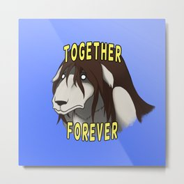Together Forever Metal Print