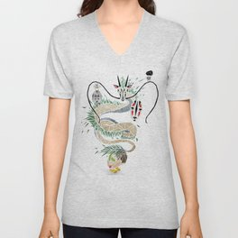 spirited away Unisex V-Neck