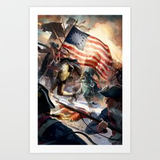 Assassin's Creed III Art Print