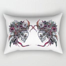 Death God Itzamna Rectangular Pillow