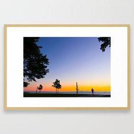 Fullerton at Sunrise Framed Art Print