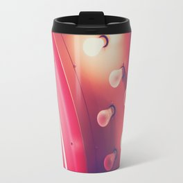 Pink Neon Glow Travel Mug