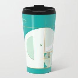 Fibonacci elephant Travel Mug