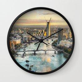London city art 2 #london #city Wall Clock