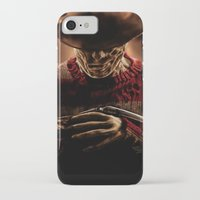 freddy krueger iPhone & iPod Cases featuring Freddy Krueger by Duke78
