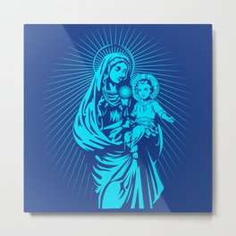 mary mother of god  Metal Print