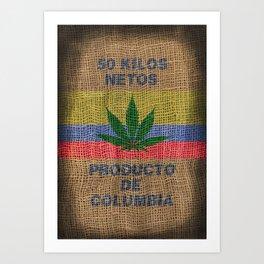 50 Kilos Netos Art Print
