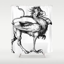The Griffin Shower Curtain