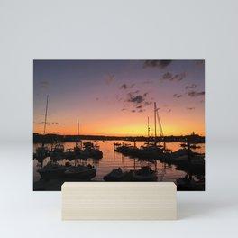 Gloucester MA Sunset Mini Art Print
