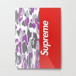 Bape x Supreme Metal Print