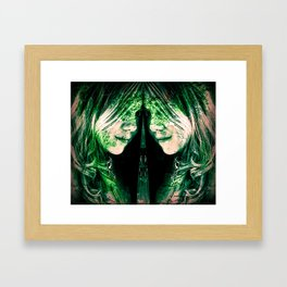 Connected II Framed Art Print