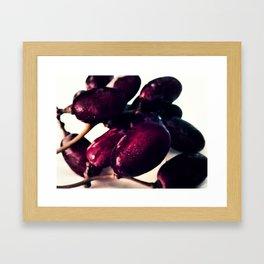 Grapes Framed Art Print