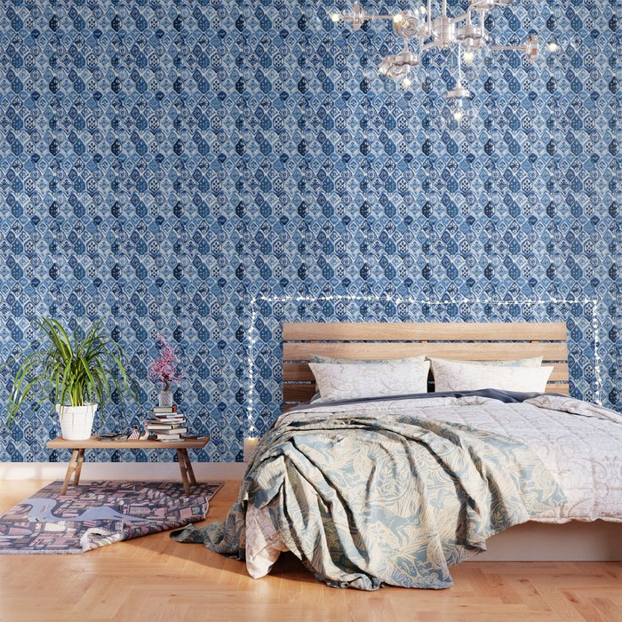 Arabesque tile art Wallpaper