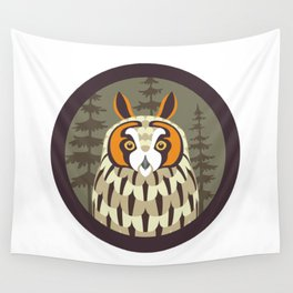 Long-eared Owl Wall Tapestry