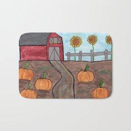 Fall on the Farm Bath Mat