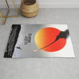Empire Of The Sun - Movie Poster Rug