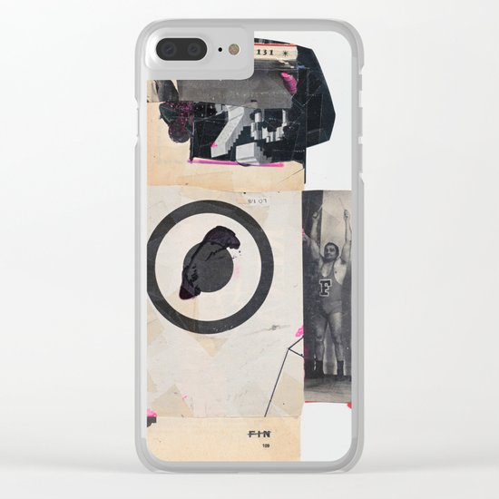 KAFEFAKE Clear iPhone Case