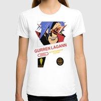 gurren lagann T-shirts featuring NES Gurren Lagann by IF ONLY
