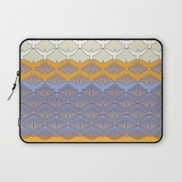 BIRDWAVE  yellow Laptop Sleeve