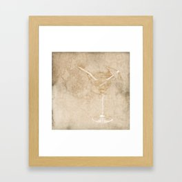 Cocktail hour Framed Art Print