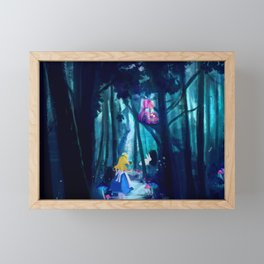 Alice in Wonderland Framed Mini Art Print