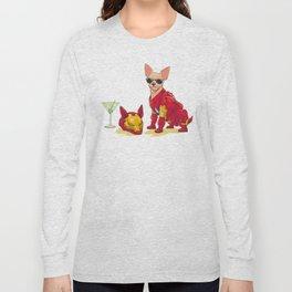 Chihuahua - Iron Man Long Sleeve T-shirt