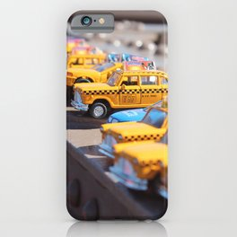 NYC Taxi iPhone Case