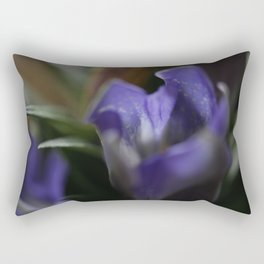 Gentian Rectangular Pillow