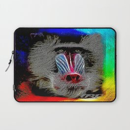 Primate Models: Mandrill Baboons 01-01 Laptop Sleeve