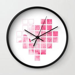 I heart ice cream Wall Clock