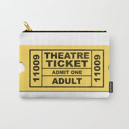 Theatre Ticket Carry-All Pouch