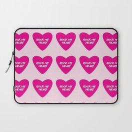 Rock My Heart Laptop Sleeve