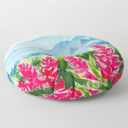 Spring scenery #9 Floor Pillow