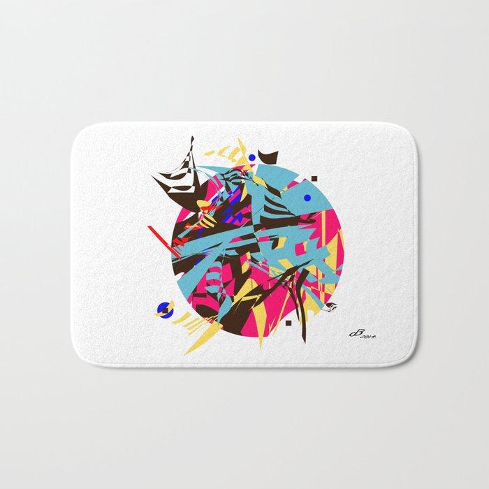 Abstract #14 Bath Mat