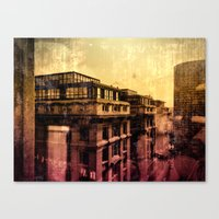 brussels Canvas Prints featuring Brussels by Flying Kiwi