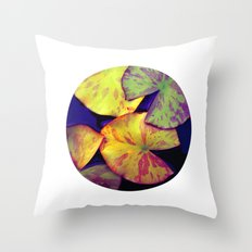 lily pads IIX Throw Pillow