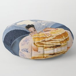 Pancake day Floor Pillow