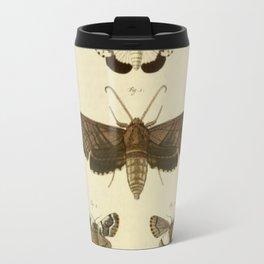Vintage Moths Travel Mug
