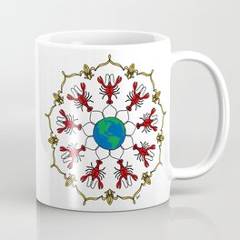 Crawfish Mandala Coffee Mug