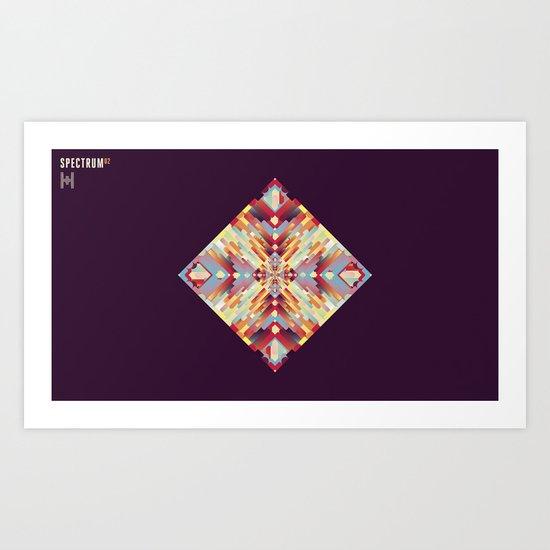 SPECTRUM 02 Art Print