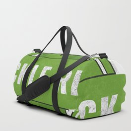 Flip the pickle over! Duffle Bag