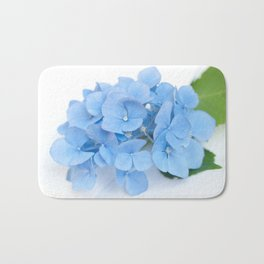 Blue Hydrangeas #1 #decor #art #society6 Bath Mat