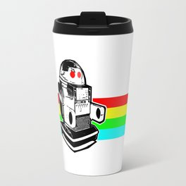 Robo Rainbow Travel Mug