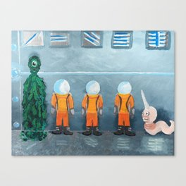 Incarceration Station Canvas Print