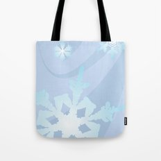 Winter Flakes Tote Bag