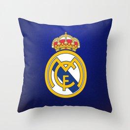Real Madrid CF : Best Futbol Club Throw Pillow