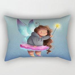 the lazy fairy godmother Rectangular Pillow